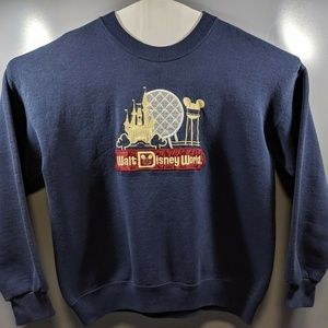 VTG Walt Disney World Disney World Pull-Over Crewn